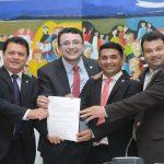 Dr. Yglésio recebe comissão para tratar da emancipação do Povoado Independência, em Peritoró