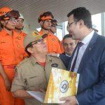 Dr. Yglésio participa de homenagens do Governo aos bombeiros que atuaram em Brumadinho (MG)