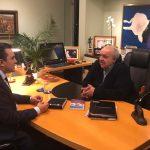 Deputado Dr. Yglésio é recebido pelo prefeito de Curitiba
