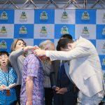 Dr. Yglésio entrega medalha à embaixador japonês que combate à hanseníase no mundo