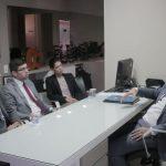 Dr. Yglésio recebeu representantes do Ibedec na Assembleia