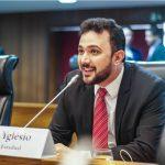 Pelo segundo ano consecutivo, Yglésio é o mais atuante da Assembleia
