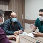 Yglésio e Mauro César são recebidos no Sindicato de Médicos do Maranhão