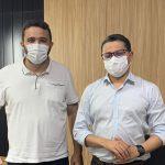 Em reunião com Carlos Lula, Yglésio solicita reforma do hospital regional de Turiaçu