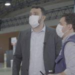 Após fiscalização, Yglésio encontra irregularidades no centro de vacinação