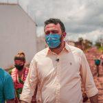 Deputado visita Paço Lumiar e solicita ações de infraestrutura no município